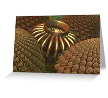 Copper Energy Collector Greeting Card