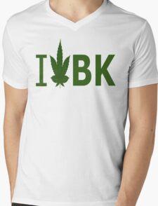 I Love BK Mens V-Neck T-Shirt