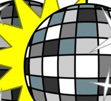 Disco Balls are Touching Sticker