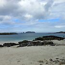 Beach Scene With Rocks - Outer Hebrides by kathrynsgallery
