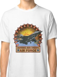 Air Force F-16, Support our Troops Classic T-Shirt