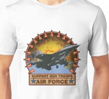Air Force F-16, Support our Troops Unisex T-Shirt
