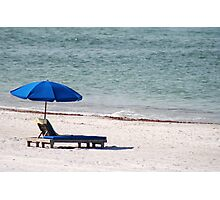 Gulf Coast chair Photographic Print