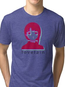love lain Tri-blend T-Shirt