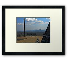©MS The View IA. Framed Print