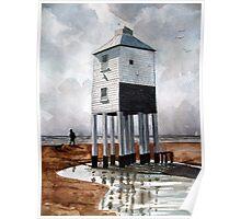 Beach Lighthouse, Burnham-on-Sea, Somerset Poster