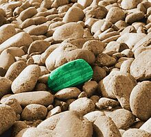 Lone Stone photo painting by randycdesign