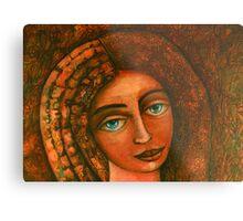 Flora, Goddess of the Seeds closer  Metal Print