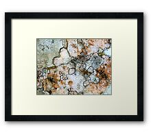 My heart in your heart Framed Print