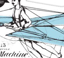 Flying Machine Sticker