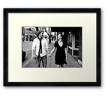 Kate and Nathan Framed Print