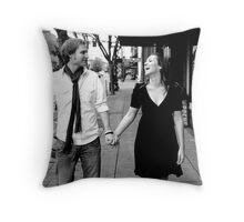 Kate and Nathan Throw Pillow