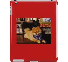 Pomeranian Cowboys iPad Case/Skin