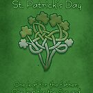 St. Patrick&#x27;s Day Cards Celtic Shamrock  by Moonlake