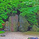 Rock Garden photo painting by randycdesign