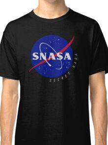 SNASA (Secret NASA - Logo) Classic T-Shirt