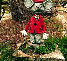 Photo Mouse Sculpture by Kater