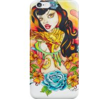 Pin Up Art - Comic Art - Flight of the Phoenix iPhone Case/Skin
