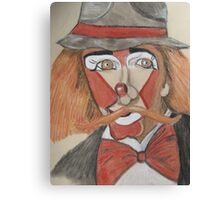 Circus Clown Canvas Print