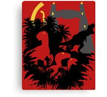Welcome to Jurassic Park Canvas Print