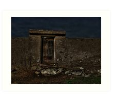 Entrance to the ancient world Art Print