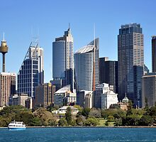 Sidney Cityscape by Kevin Cotterell