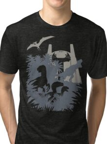 Welcome to Jurassic World  Tri-blend T-Shirt