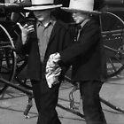 Two Amish boys by al holliday