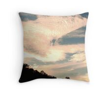 Movement in the Atmosphere Throw Pillow