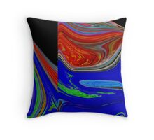 Passion Colours Throw Pillow