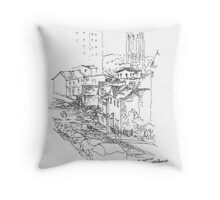 PPG Place from Mount Washington Throw Pillow