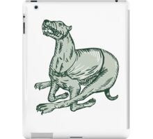 Greyhound Dog Racing Side Etching iPad Case/Skin