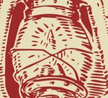 Kerosene Lamp Etching Sticker