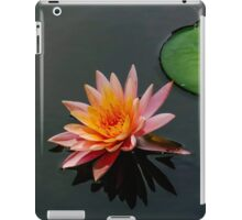 Blooming Pink Lily Pad iPad Case/Skin