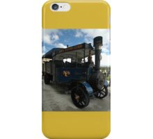 Foden Traction Engine, Tyabb Airshow, Australia 2012 iPhone Case/Skin