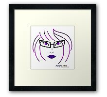 All Girls Rock! Framed Print