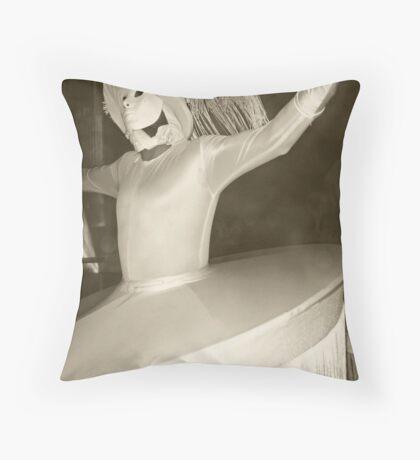 Phantoms in the Valley of the Moon - Wadi Rum, Jordan Throw Pillow