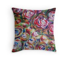 Cycles of  Life Throw Pillow