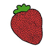Strawberry Fruit by Clavilux