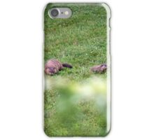 The lovely Charlize and baby Charlie iPhone Case/Skin