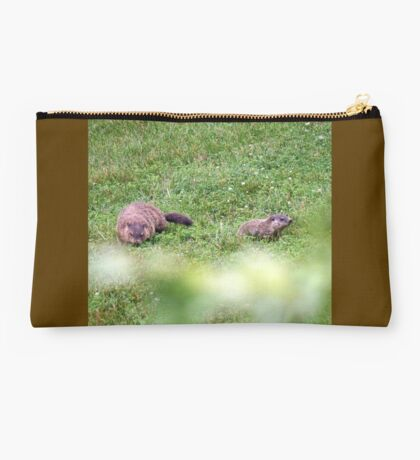 The lovely Charlize and baby Charlie Studio Pouch