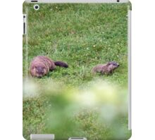 The lovely Charlize and baby Charlie iPad Case/Skin