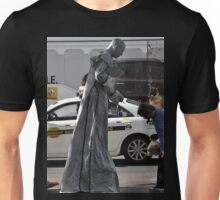 Grey Busker, Market Street, Sydney, Australia 2013 Unisex T-Shirt