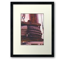 The Old Way Framed Print