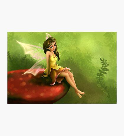 Little Fairy Girl Photographic Print