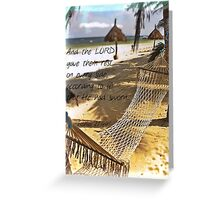 Rest On Every Side II Greeting Card
