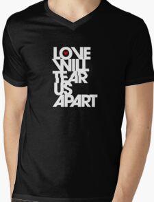 Love Will Tear Us Apart Mens V-Neck T-Shirt