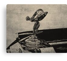 The Flying Lady - Landscape Canvas Print