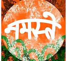 'Namaste' Hindi Greeting by yannbugg