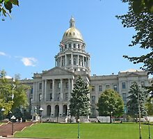 Colorado State Capitol Building, Denver by Graeme  Hyde